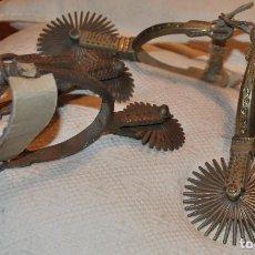 Antigüedades: ANTIGUAS ESPUELAS CHILENAS. Lote 168758364
