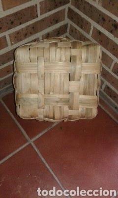 Antigüedades: Cesto de Castaño - Foto 3 - 168762685