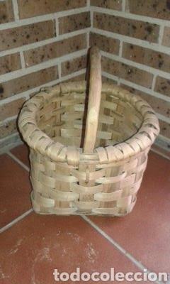 Antigüedades: Cesto de Castaño - Foto 4 - 168762685