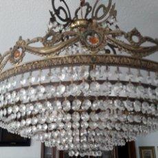 Antigüedades: LAMPARA TECHO.. Lote 168773317