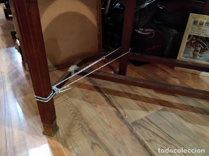 Antigüedades: Antigua coqueta tocador estilo art deco, con espejo y cuatro cajones-Alto 195 ancho 95 fondo 50cm - Foto 11 - 133246358
