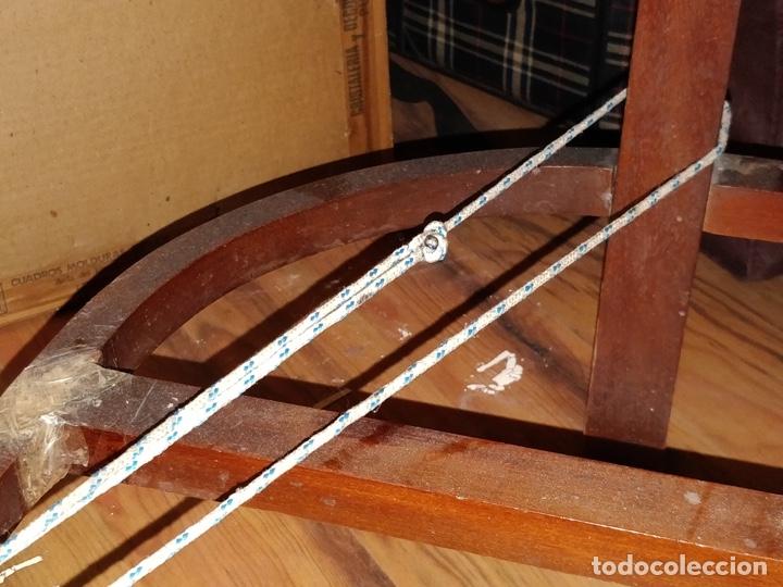 Antigüedades: Antigua coqueta tocador estilo art deco, con espejo y cuatro cajones-Alto 195 ancho 95 fondo 50cm - Foto 14 - 133246358