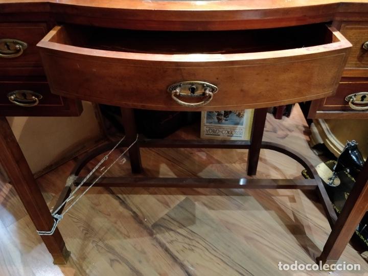Antigüedades: Antigua coqueta tocador estilo art deco, con espejo y cuatro cajones-Alto 195 ancho 95 fondo 50cm - Foto 19 - 133246358