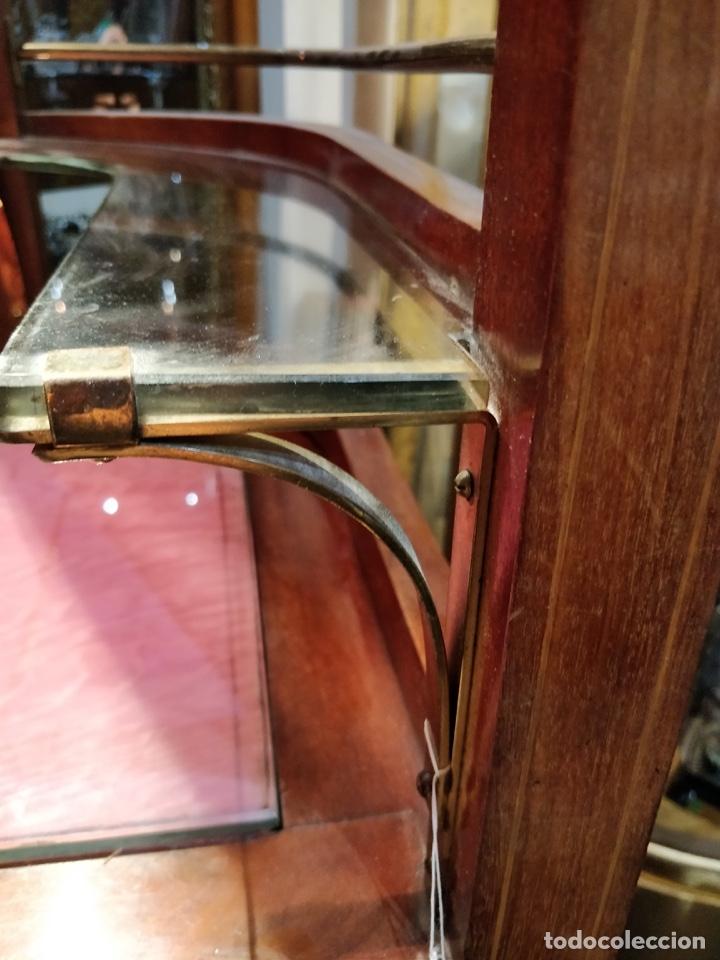 Antigüedades: Antigua coqueta tocador estilo art deco, con espejo y cuatro cajones-Alto 195 ancho 95 fondo 50cm - Foto 24 - 133246358