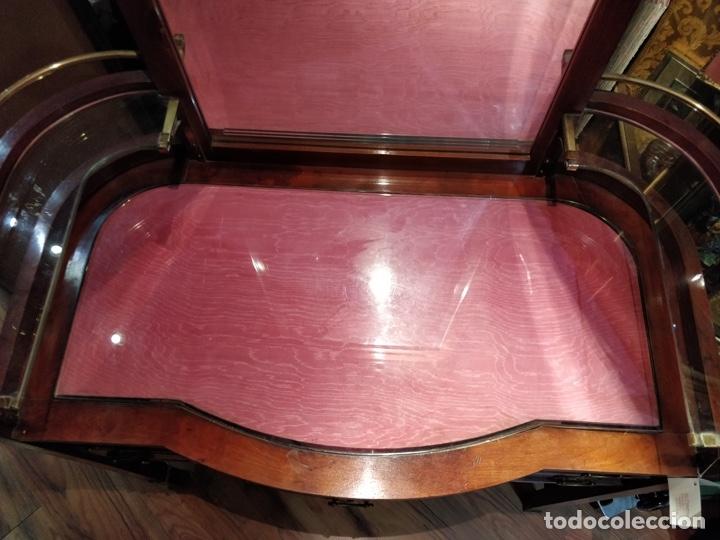 Antigüedades: Antigua coqueta tocador estilo art deco, con espejo y cuatro cajones-Alto 195 ancho 95 fondo 50cm - Foto 25 - 133246358