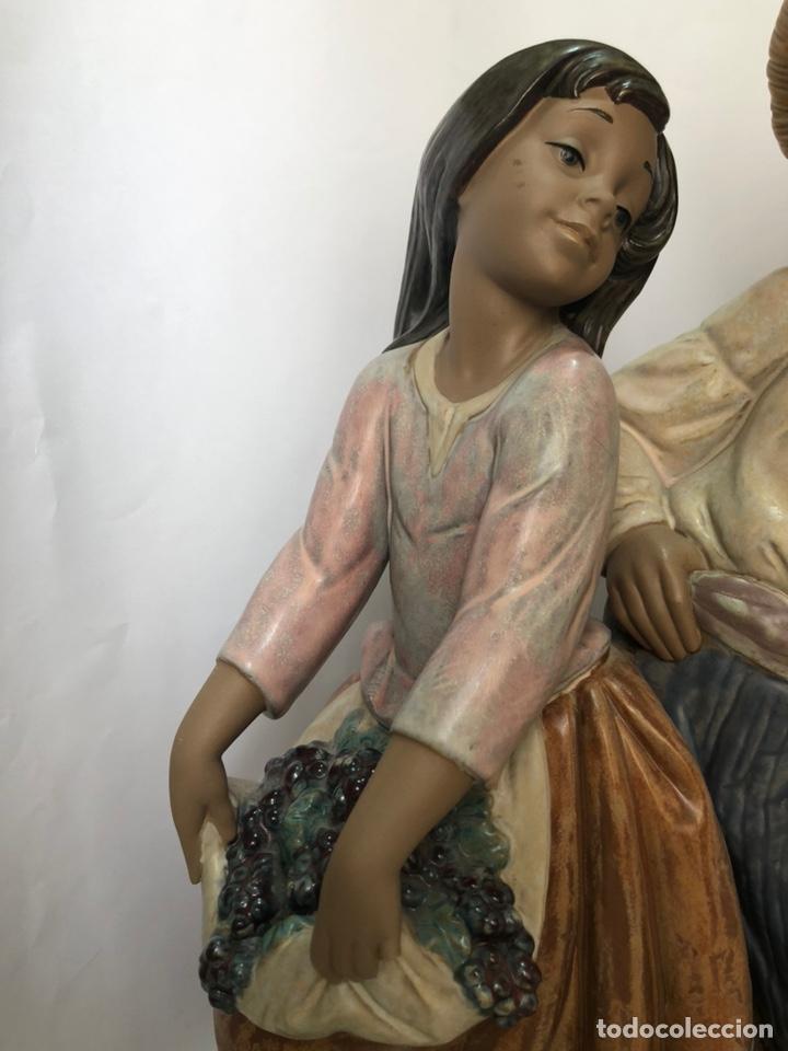 """Antigüedades: REF: 01012359 """"VENDIMIA ROMÁNTICA"""" LLADRÓ - Foto 4 - 168504641"""