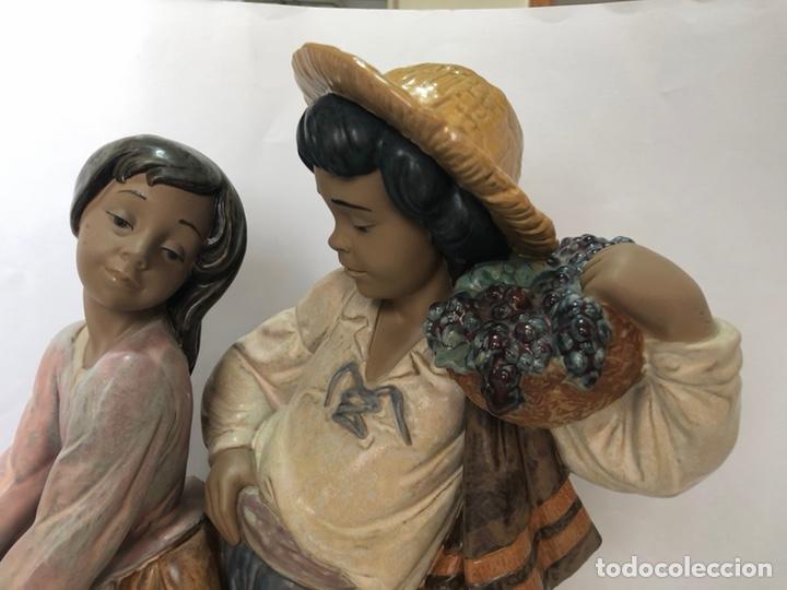 """Antigüedades: REF: 01012359 """"VENDIMIA ROMÁNTICA"""" LLADRÓ - Foto 5 - 168504641"""