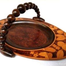 Antigüedades: BANDEJA DE MADERA FRANCESA. Lote 168830104