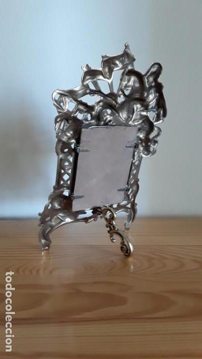 Antigüedades: Marco sobremesa, bronce - Foto 7 - 168843920
