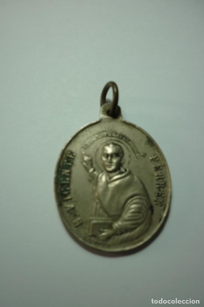 REAL ASOCIACION DE S. VICENTE FERRER EN LA IGLESIA DEL PILAR (Antigüedades - Religiosas - Medallas Antiguas)
