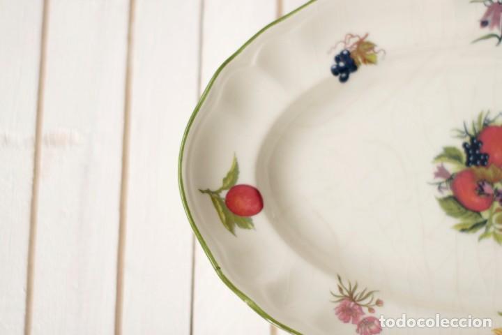 Antigüedades: Lote de 2 bandejas de Porcelana Decoradas de San Claudio - Asturias - España - Foto 3 - 168853092