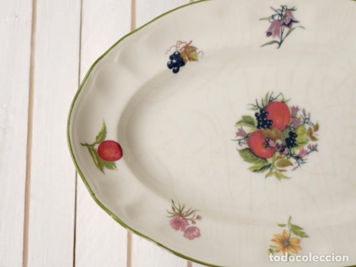 Antigüedades: Lote de 2 bandejas de Porcelana Decoradas de San Claudio - Asturias - España - Foto 4 - 168853092