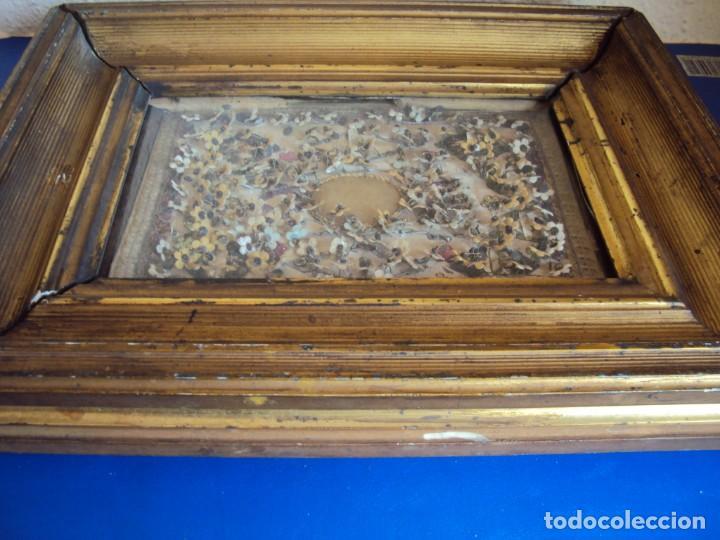 Antigüedades: (ANT-190687)GRAN RELICARIO MEDALLON CENTRAL DE CERA - SIGLO XIX - Foto 14 - 168917184