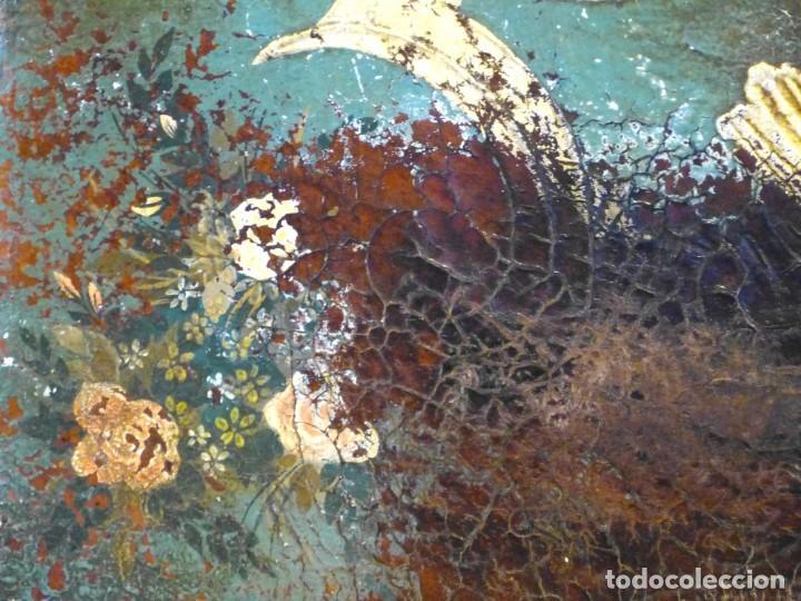 Antigüedades: Cabecero de cama de mesiados del Siglo XIX - Foto 7 - 168926016