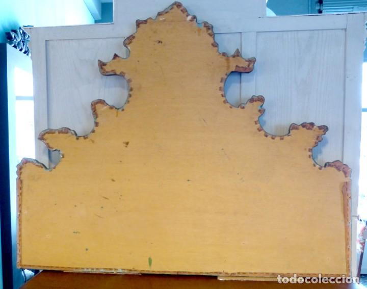 Antigüedades: Cabecero de cama de mesiados del Siglo XIX - Foto 9 - 168926016