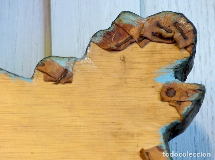 Antigüedades: Cabecero de cama de mesiados del Siglo XIX - Foto 10 - 168926016