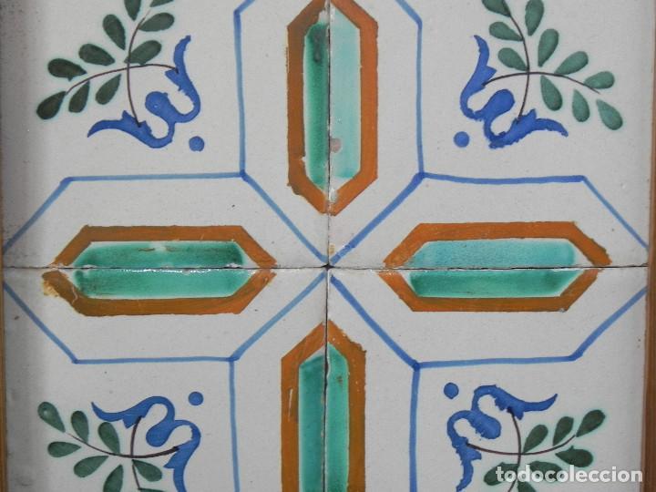 Antigüedades: ** CUADRO DE AZULEJOS CATALANES SIGLO XVIII ** - Foto 2 - 168934936