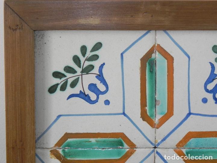 Antigüedades: ** CUADRO DE AZULEJOS CATALANES SIGLO XVIII ** - Foto 3 - 168934936
