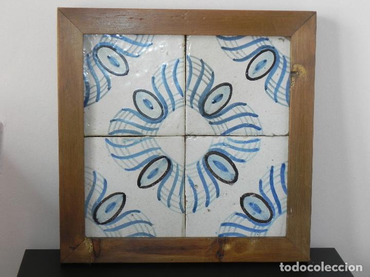 ** CUADRO DE AZULEJOS CATALANES SIGLO XVIII ** (Antigüedades - Porcelanas y Cerámicas - Azulejos)