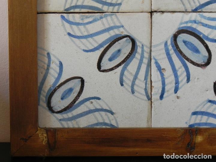 Antigüedades: ** CUADRO DE AZULEJOS CATALANES SIGLO XVIII ** - Foto 3 - 168935000