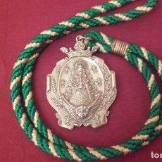 Antigüedades: MEDALLA HERMANDAD ROCÍO HUEVAR DEL ALJARAFE.SEVILLA . Lote 168941828