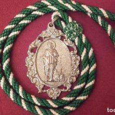 Antigüedades: MEDALLA HERMANDAD SAN ISIDRO. HUELVA PROVINCIA.. Lote 168945808