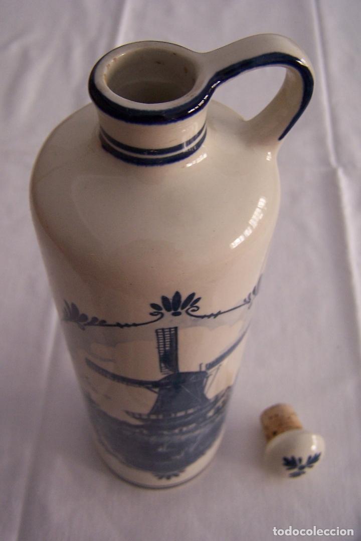 Antigüedades: BOTELLA DE PORCELANA DELFT, CANECO, HOLANDA. - Foto 3 - 168949192
