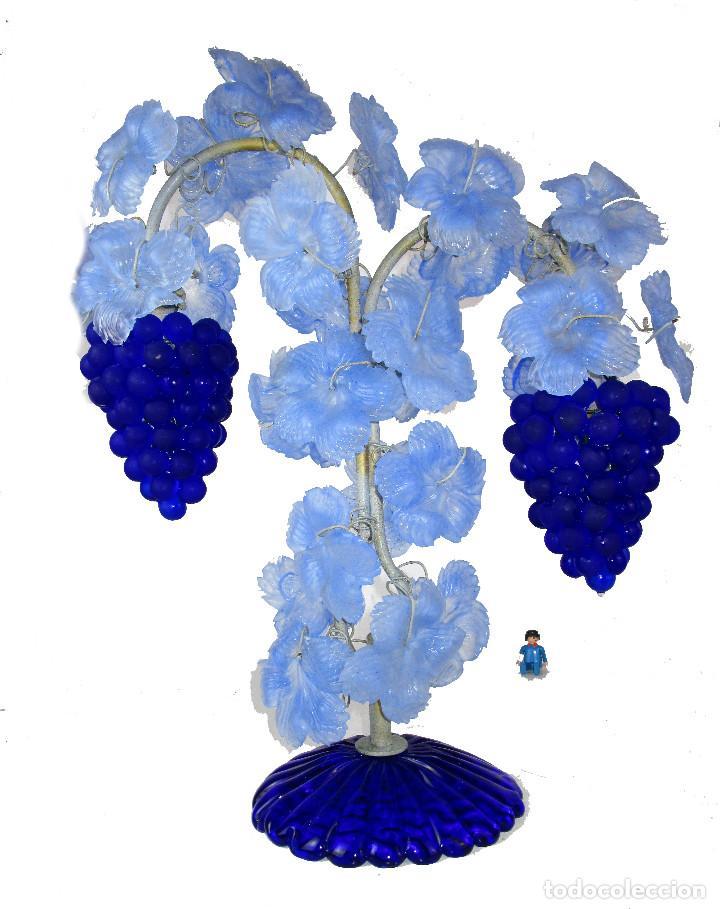 ESPECTACULAR LAMPARA CRISTAL VENECIA MURANO VINTAGE POR CESARE TOSO IDEAL BODEGAS CASERIOS VIDS (Antigüedades - Iluminación - Lámparas Antiguas)