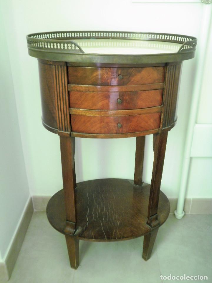 Antigüedades: Pareja de mesillas de noche - Foto 12 - 168987436