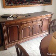 Antigüedades: MUEBLE DE MADERA BAJO. Lote 168998128