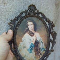 Antigüedades: ANTIGUO MARCO CON COLGADOR. Lote 169007846