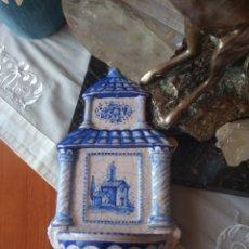 Antigüedades: BENDITERA CERÁMICA ( LUFECO ). Lote 169022466