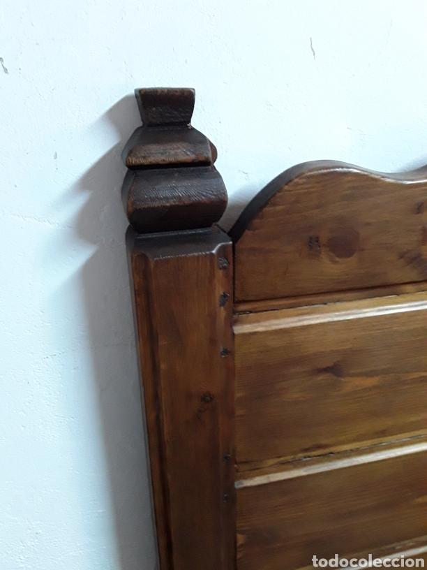 Antigüedades: Banco o escaño arcón - Foto 7 - 169075868