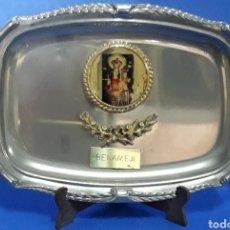 Antigüedades: BANDEJA VIRGEN DE GRACIA BENAMEJI CORDOBA. Lote 169084845