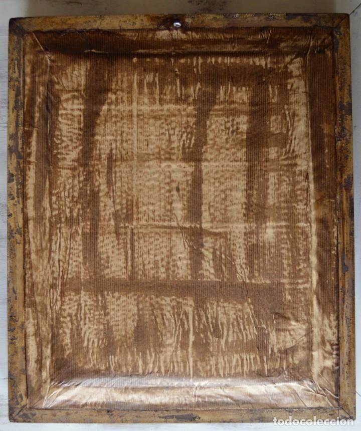 Antigüedades: ÓLEO DE PAISAJE PORTUGUÉS, MARCO DE MADERA, TAMAÑO 49,5 X 41,5 X 5 CM. - Foto 6 - 169092468