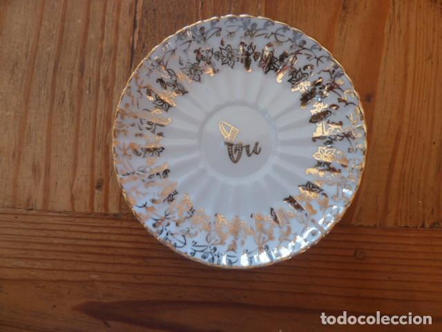 Antigüedades: Plato de conjunto tú y yo. Santa Clara - Foto 2 - 220089966