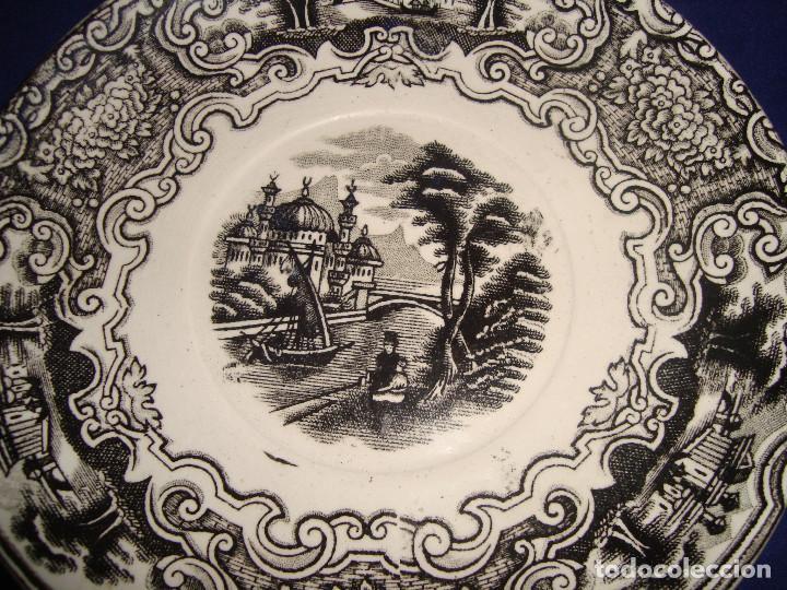 Antigüedades: PLATO PICKMAN LA CARTUJA DE SEVILLA SERIE VISTAS - Foto 2 - 169117072