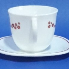 Antigüedades: JUEGO DE CAFÉ 3 TAZAS Y PLATOS. Lote 169118384