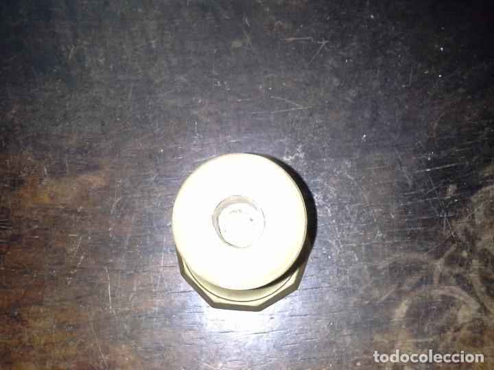 Antigüedades: CANDELABRO DE METAL - Foto 5 - 169155456
