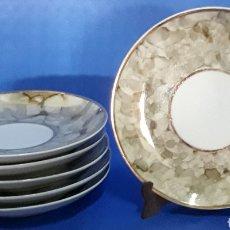 Antigüedades: CERÁMICA LOTE 6 PLATOS DECORADOS. Lote 169170728