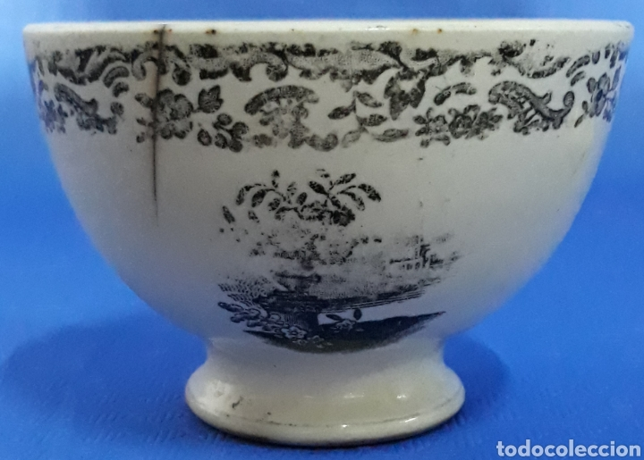 Antigüedades: Antiguo cuenco de porcelana - Foto 2 - 169209756