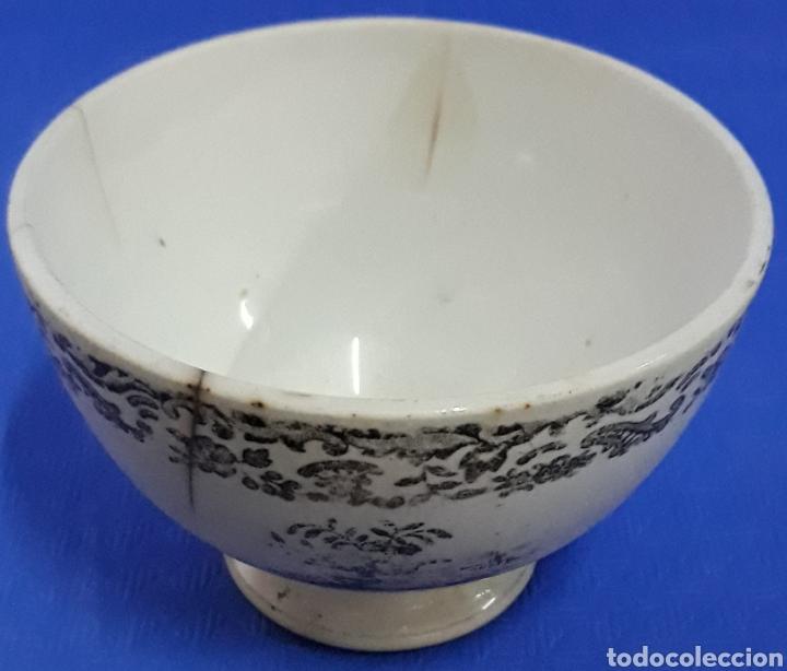 ANTIGUO CUENCO DE PORCELANA (Antigüedades - Porcelanas y Cerámicas - Otras)