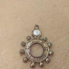 Antigüedades: ANTIGUO ROSARIO DE DEDO - COLGANTE - AVE MARÍA - SAN FRANCISCO JAVIER -. Lote 169212250