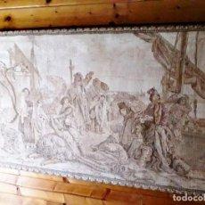 Antigüedades: TAPIZ DE FABRICACIÓN MECÁNICA. - PRIMERA MITAD DEL SXIX. Lote 169213280