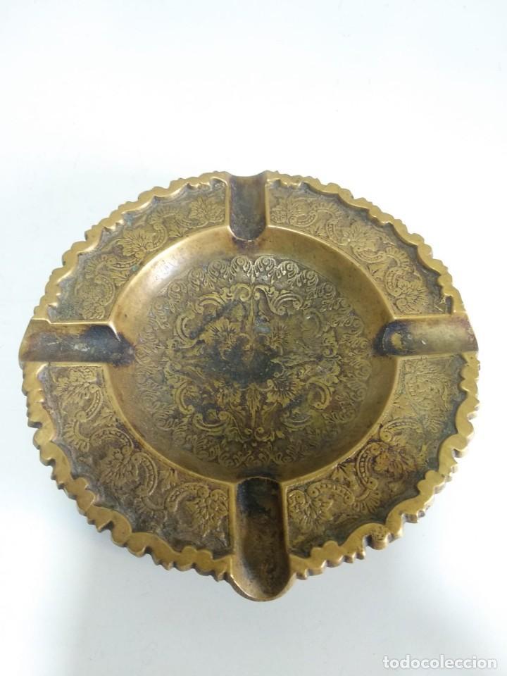 CENICERO BRONCE (Antigüedades - Hogar y Decoración - Ceniceros Antiguos)