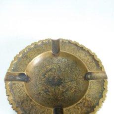 Antigüedades: CENICERO BRONCE. Lote 169214096