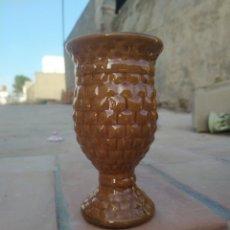 Antigüedades: JARRÓN TIPO CALIZ 21 CM.. Lote 169217498