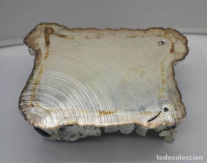 Antigüedades: Bello Belén vintage laminado en plata de ley 925 . - Foto 9 - 169225000