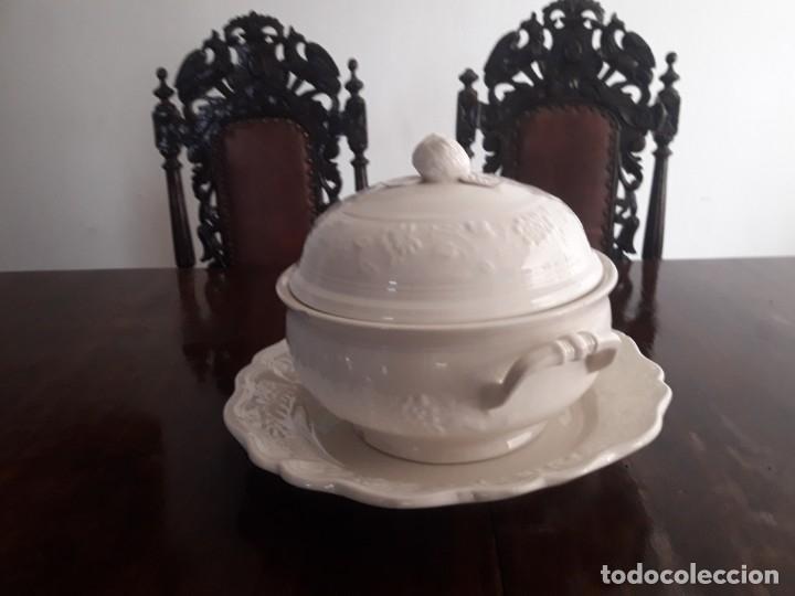 Antigüedades: MESA ISABELINA DE CAOBA TALLADA Y 6 SILLAS. (1850-1860) - Foto 28 - 146460126