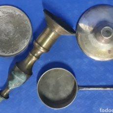 Antigüedades: LOTE CACHARROS DE METAL. Lote 169287874